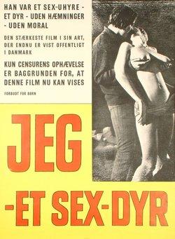 JEG – ET SEX-DYR (POSTER)