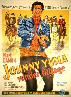 JOHNNY YUMA VENDER TILBAGE (POSTER)