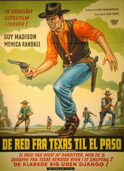 DE RED FRA TEXAS TIL EL PASO (POSTER)