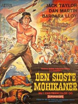 DEN SIDSTE MOHIKANER (POSTER)