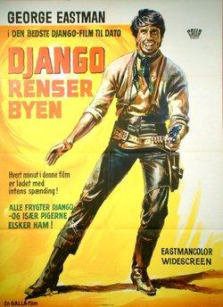 DJANGO RENSER BYEN (POSTER)