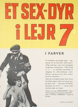 ET SEX-DYR I LEJR 7 (POSTER)