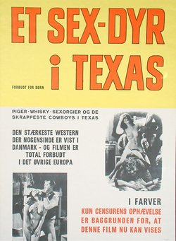 ET SEX-DYR I TEXAS (POSTER)