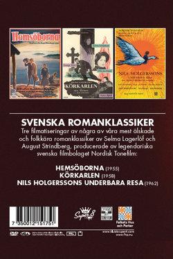 SVENSKA ROMANKLASSIKER (3 DVD)