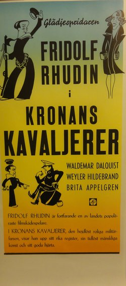 KRONANS KAVALJERER (POSTER)