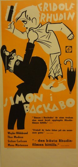 SIMON I BACKABO (POSTER)